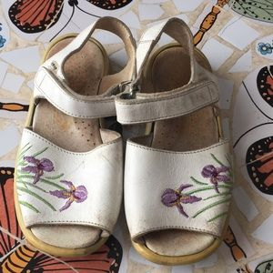Made in Fance leather sandals